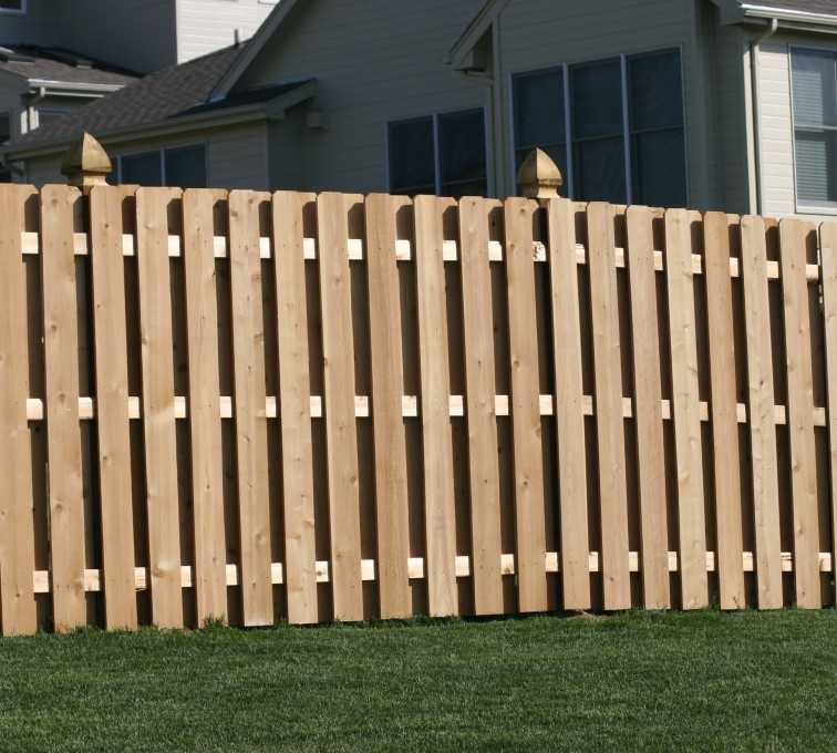 Rochester Fence Company - Wood Fencing, 1007 6' board on board