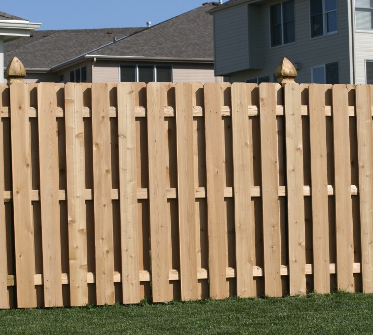 Rochester Fence Company - Wood Fencing, 1008 6' board on board