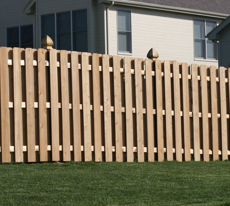Rochester Fence Company - Wood Fencing, 1009 6' board on board