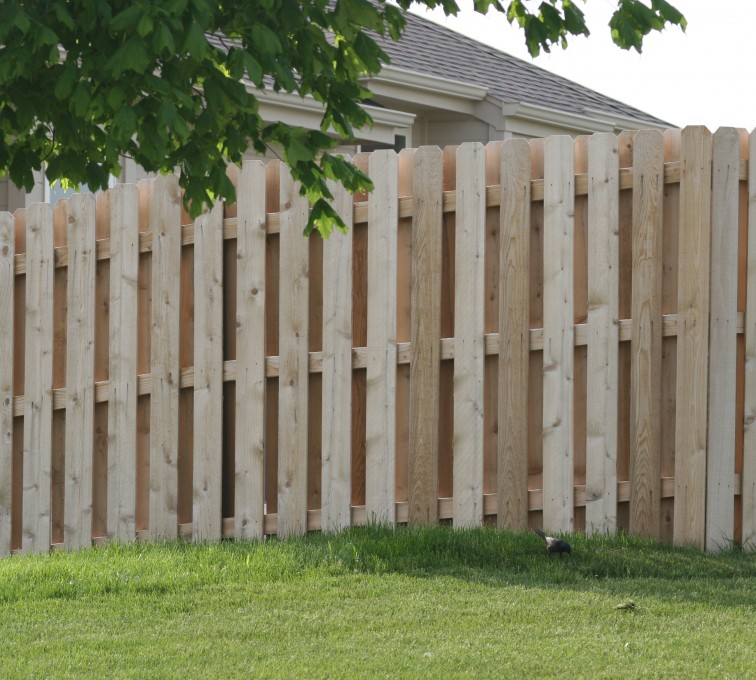 Rochester Fence Company - Wood Fencing, 1016 Board on board