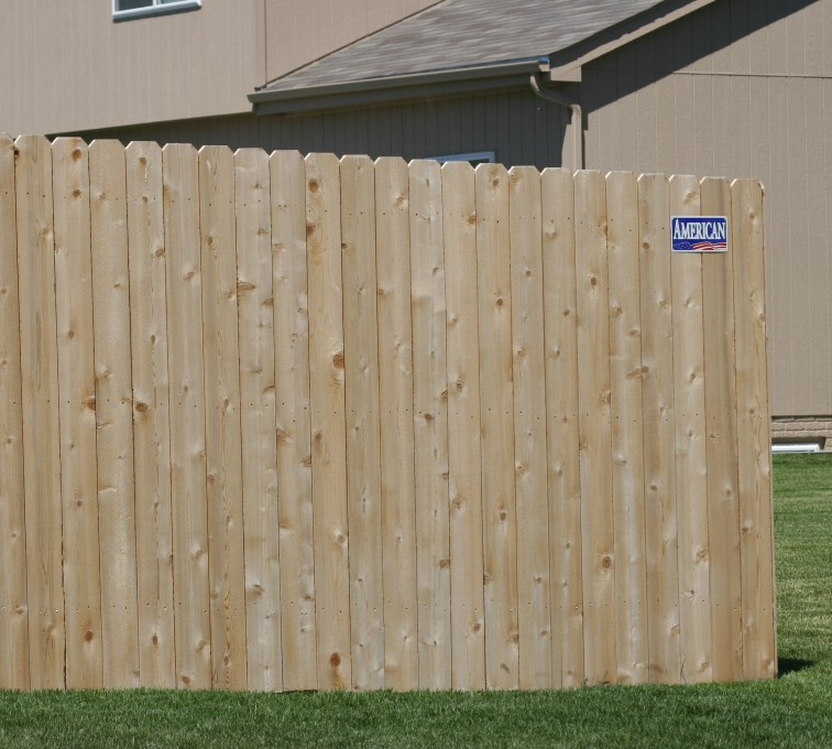 Rochester Minnesota Fence Company - Wood Fencing, 1022 6' solid privacy