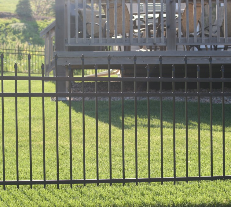 AFC Rochester - Ornamental Fencing, 1053 4' Warrior 3 rail black 2