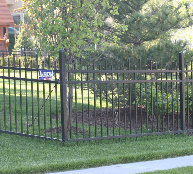 AFC Rochester - Ornamental Fencing, 1054 4' Warrior 3 rail black 3