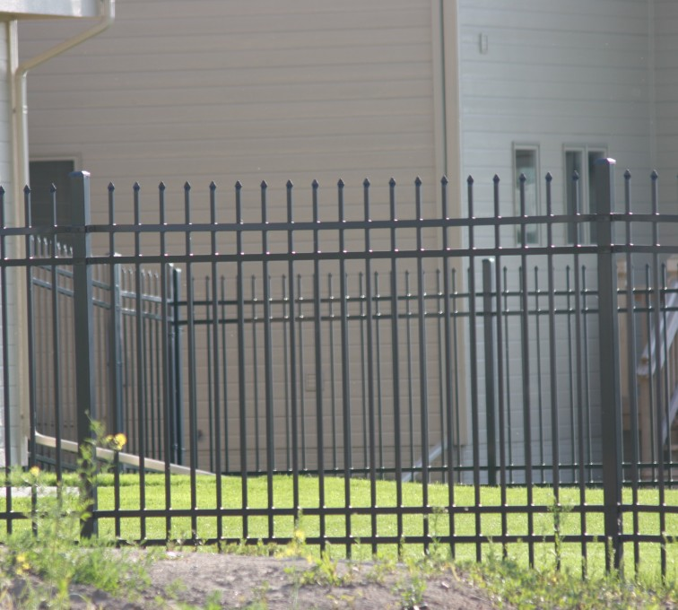 AFC Rochester - Ornamental Fencing, 1059 6' Classic 4 rail black 3