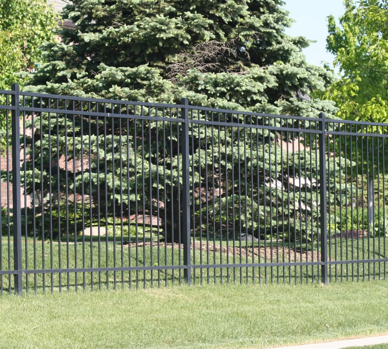 AFC Rochester - Ornamental Fencing, 1062 6' Majestic 3 rail black