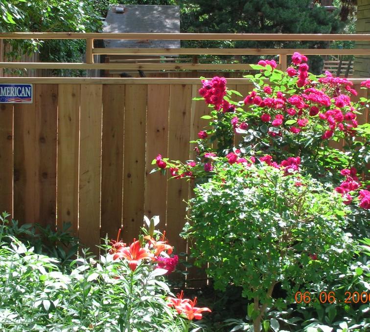 AFC Rochester - Wood Fencing, 1073 Frank Lloyd Wright Fence