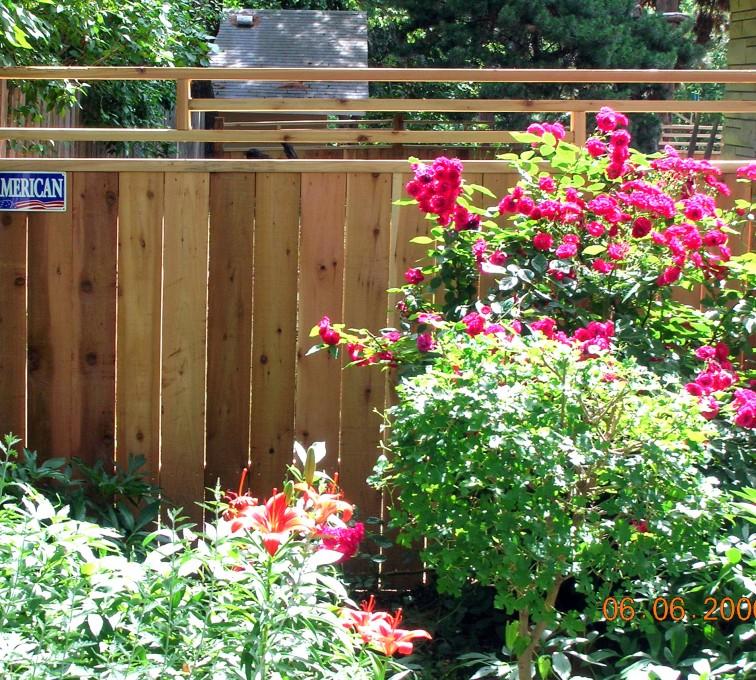 AFC Rochester - Wood Fencing, 1075 Frank Lloyd Wright Fence