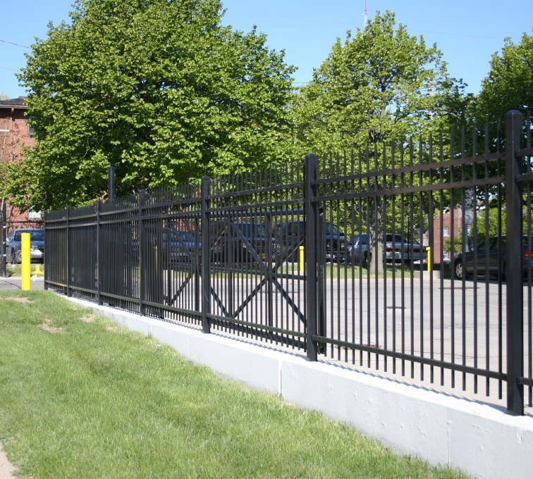 AFC Rochester - Ornamental Fencing, 1077 Classic Black Aegis II Energy Services