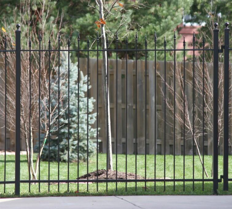 AFC Rochester - Custom Iron Gate Fencing,1202 Alternating Picket Ornamental Iron Photo