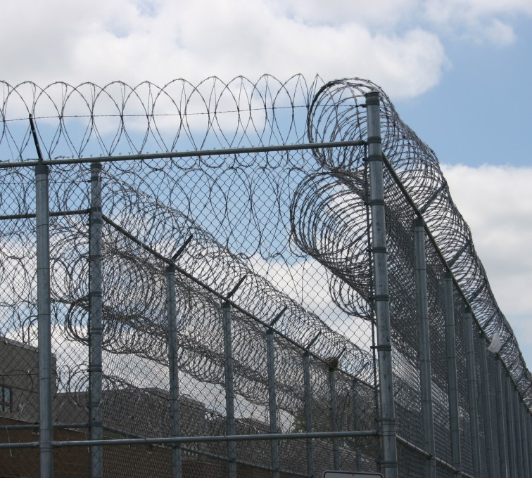 AFC Rochester - High Security Fencing, 2102 Correctional fence with Concertina wire