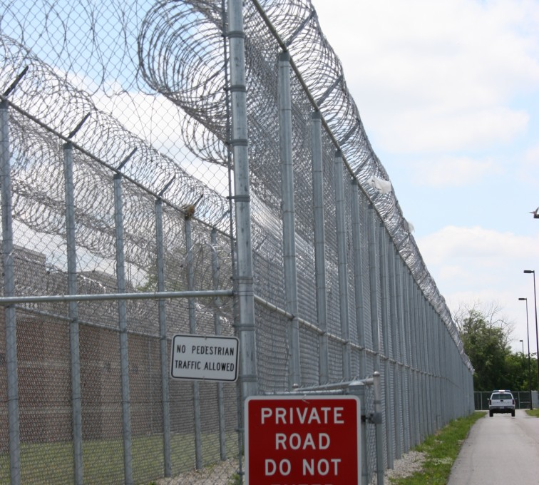 AFC Rochester - High Security Fencing, 2103 Correctional fence with Concertina wire