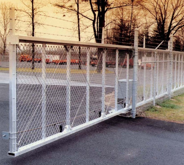 AFC Rochester - Custom Gates, 2107 TyMetal Heavy Duty Aluminum Slide Gate