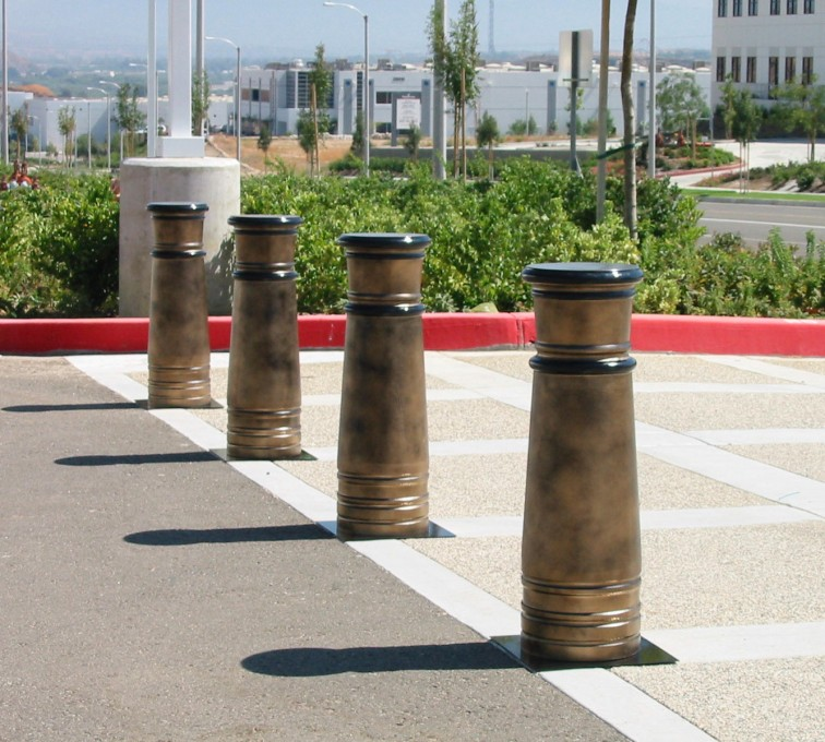 AFC Rochester - K-Rated Vehicle Restraint Systems Fencing, 2114 Hydraulic Bollards