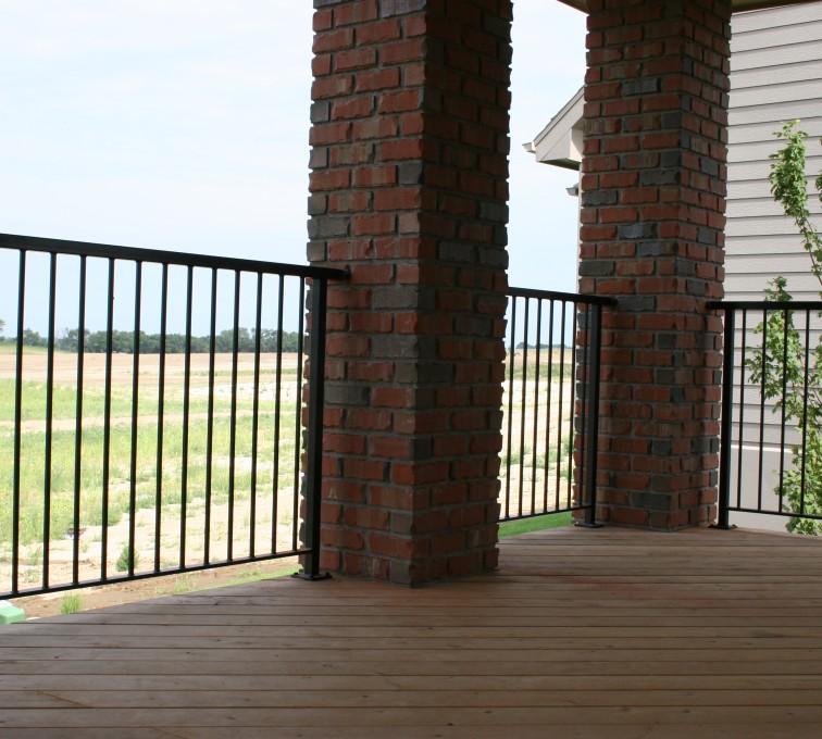 AFC Rochester - Custom Railing, 2210 Deck railing