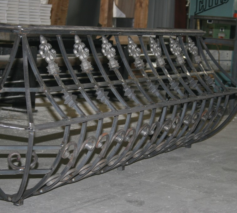 AFC Rochester - Custom Railing, 2219 Balcony Railing in Fabrication
