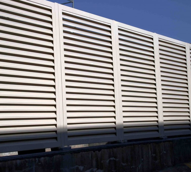 AFC Rochester - Louvered Fence Systems Fencing, 2223 Louvered Fence