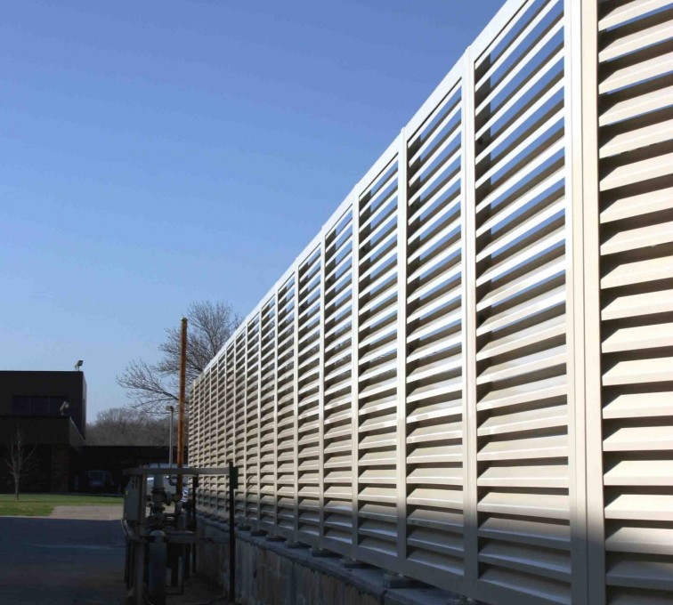 AFC Rochester - Louvered Fence Systems Fencing, 2224 Louvered Fence