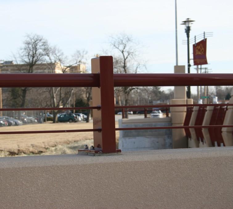 AFC Rochester - Custom Railing, 2225 Knee Wall Railing