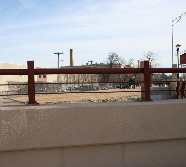 AFC Rochester - Custom Railing, 2226 Knee Wall Railing