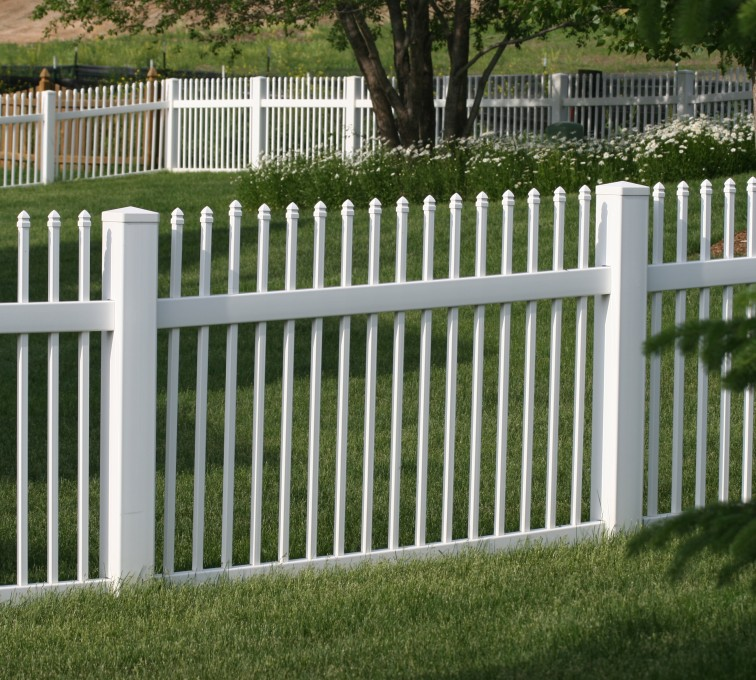 AFC Rochester - Vinyl Fencing, 4' Ornamental Picket 855