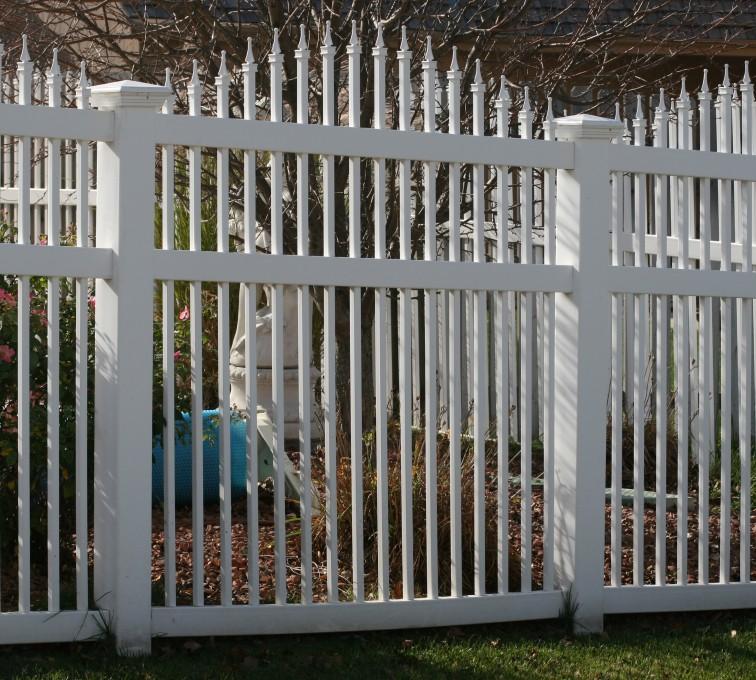 AFC Rochester - Vinyl Fencing, 562 Vinyl Ornamental Overscallop 6' Photo