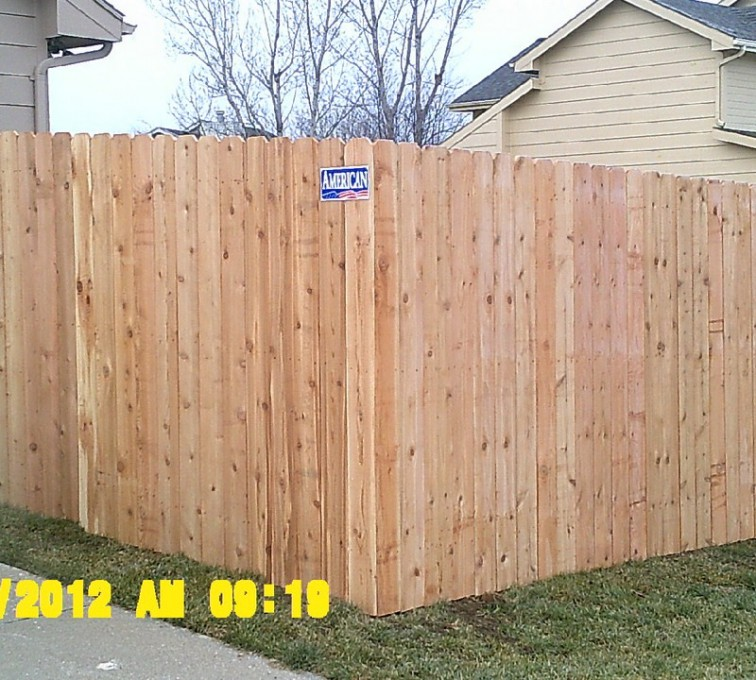 cRochester Minnesota Fence Company - Wood Fencing, 1021 6' Solid Privacy