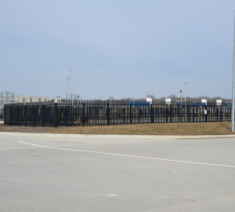 AFC Rochester - K-Rated Vehicle Restraint Systems Fencing, 8' Crash Rated Ornamental Impasse - AFC - IA