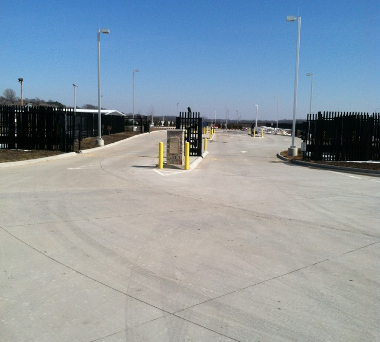 AFC Rochester - K-Rated Vehicle Restraint Systems Fencing, 8' Crash Rated Ornamental Impasse 7 - AFC - IA
