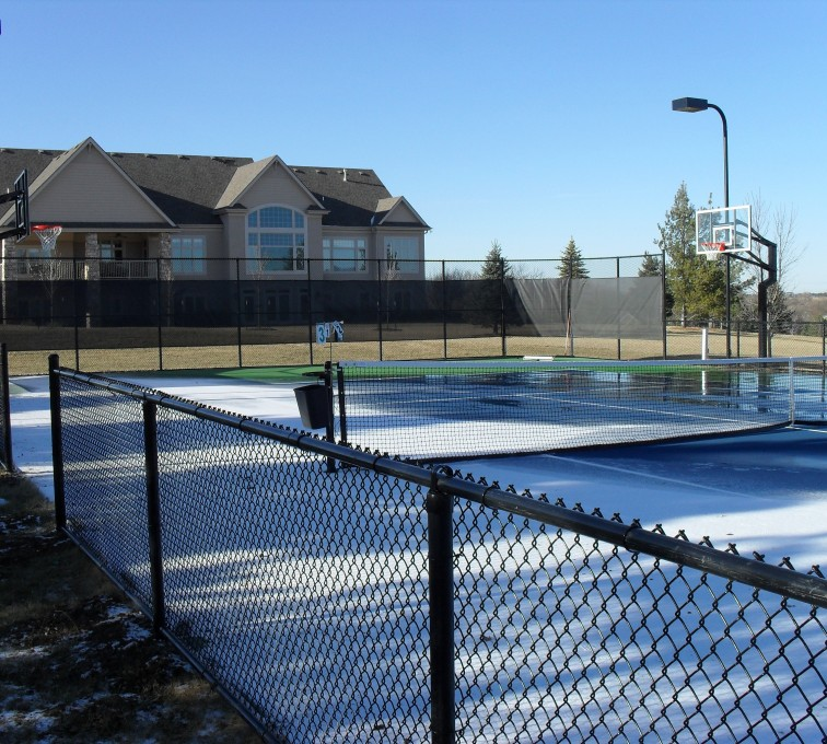 AFC Rochester - Sports Fencing, BVCL Tennis Court