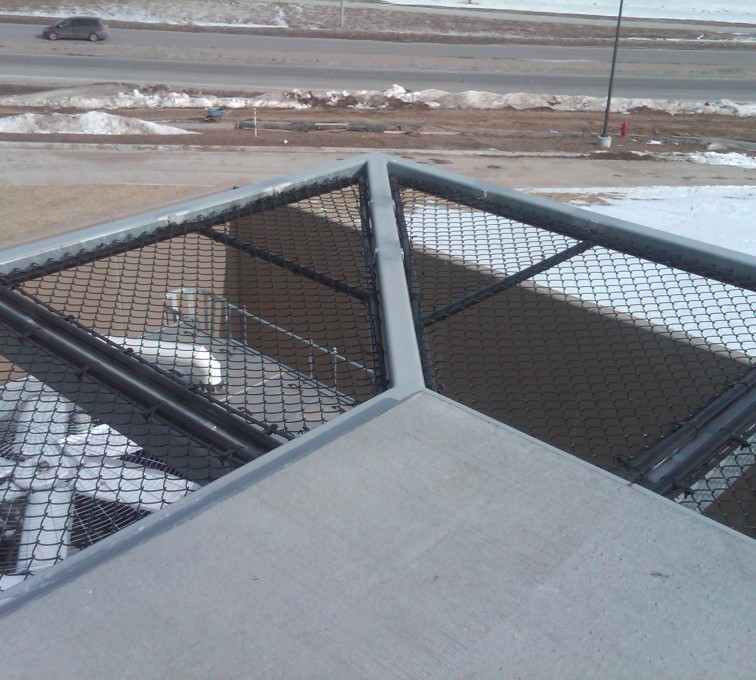 AFC Rochester - Chain Link Fencing, Bellevue Hospital 25th and Cornhusker(10)