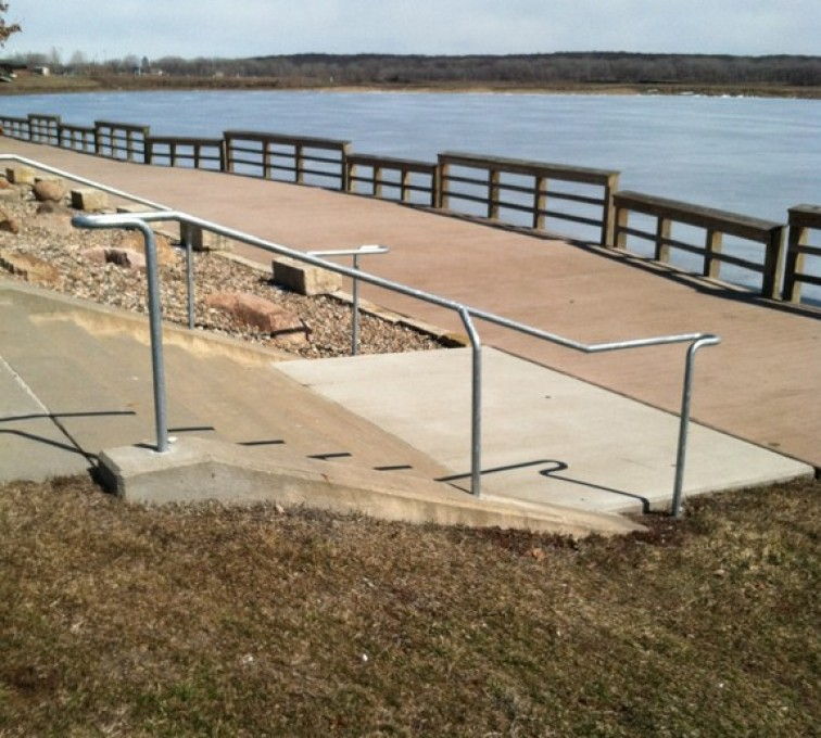 AFC Rochester - Custom Railing, Custom Galvanized Handrail - AFC - IA