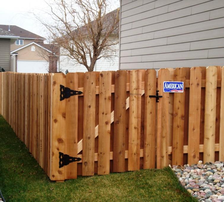 Rochester Fence Company - Wood Fencing, Cedar Board on Board, AFC, SD