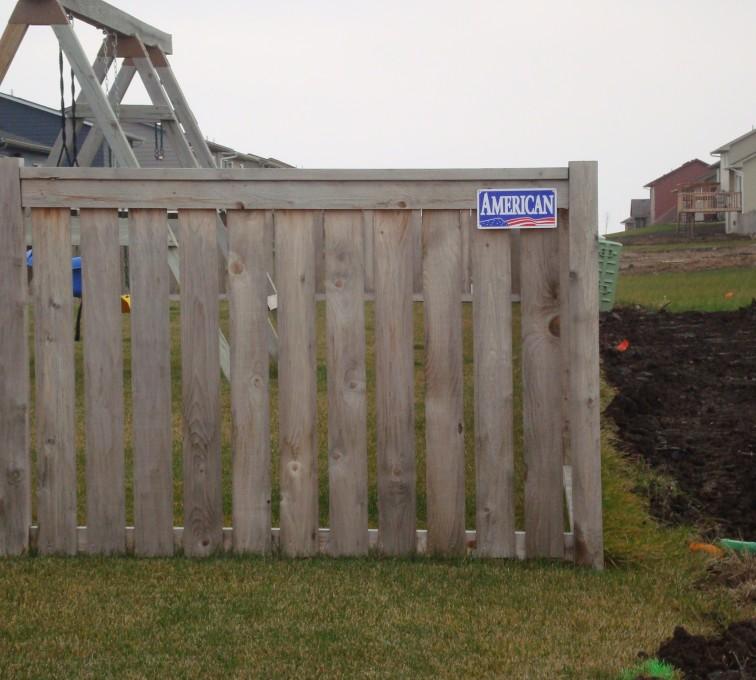 Rochester Minnesota Fence Company - Wood Fencing, Cedar Picket Capboard AFC, MN