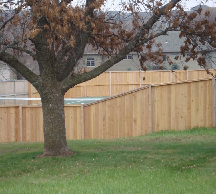 AFC Rochester - Wood Fencing, Cedar Privacy Capboard AFC, SD