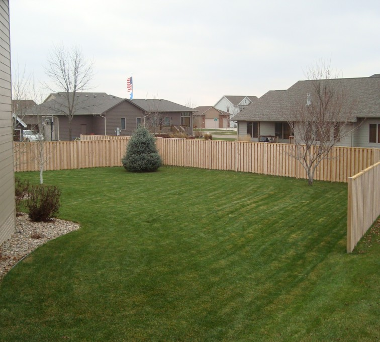 Rochester Fence Company - Wood Fencing, Cedar Shadow Box AFC, SD