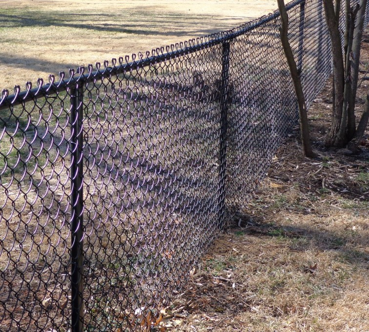 AFC Rochester - Chain Link Fencing, 4' Black Vinyl Chain Link - AFC-KC