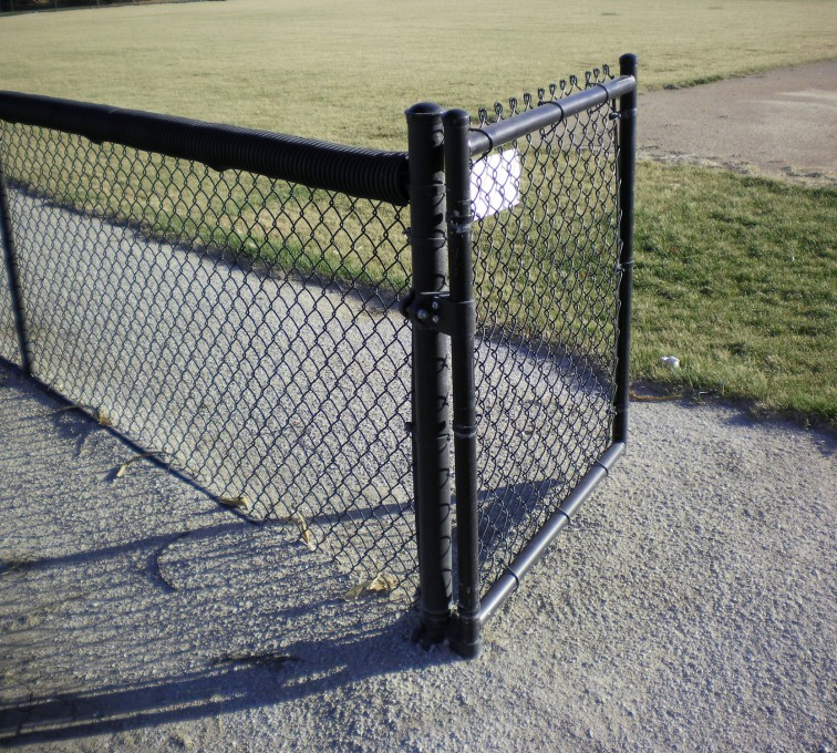 AFC Rochester - Chain Link Fencing, Black Vinyl-AFC-Grand Island