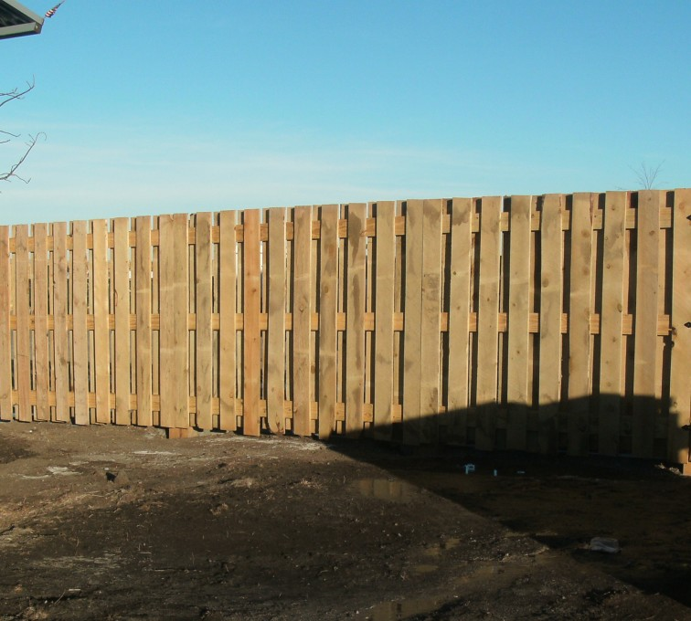 Rochester Fence Company - Wood Fencing, Custom Board on Board - AFC - SD