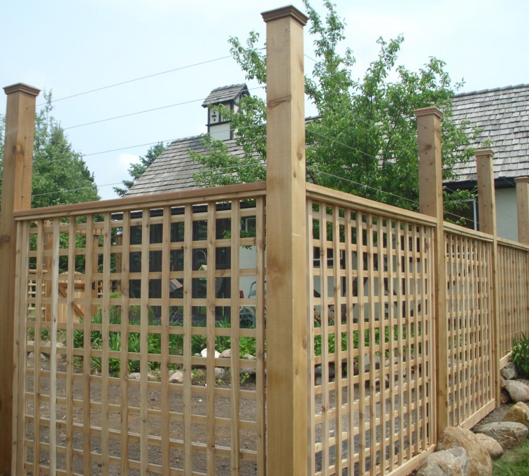 Rochester Fence Company - Wood Fencing, Custom Garden Fence 2 AFC, SD