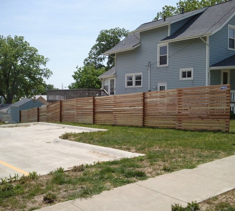 AFC Rochester - Wood Fencing, 6' Horizontal Picket - AFC - IA