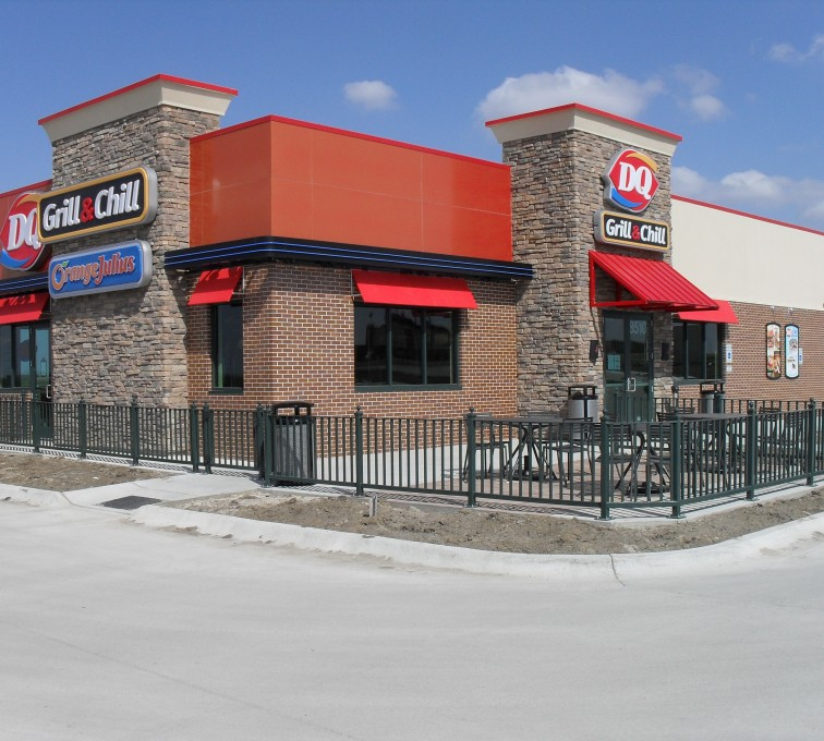 AFC Rochester - Ornamental Fencing, Dairy Queen