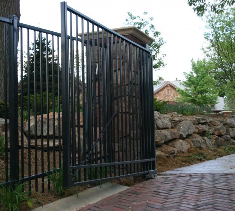 AFC Rochester - Custom Gates, Estate Double Drive Gate