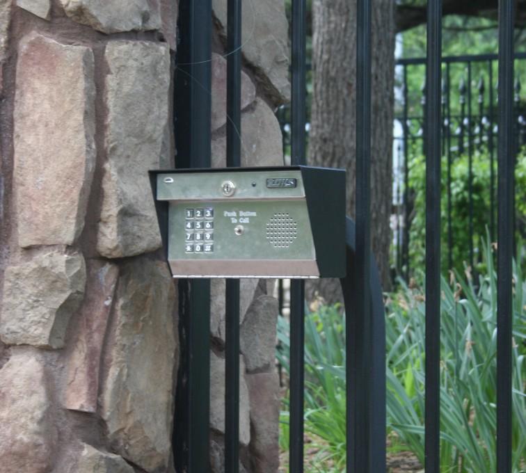 AFC Rochester - Custom Gates, Estate Telephone Entry