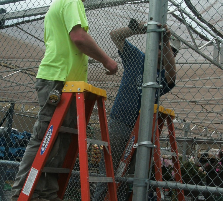 AFC Rochester - Chain Link Fencing