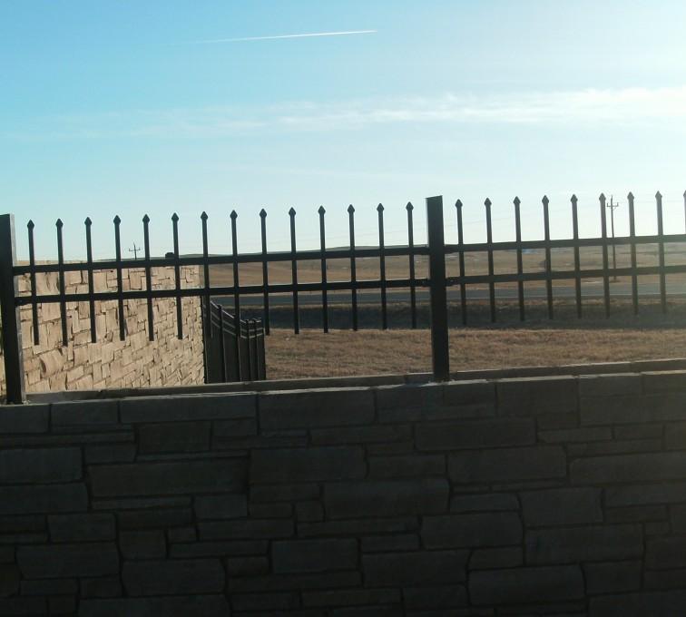AFC Rochester - Custom Iron Gate Fencing