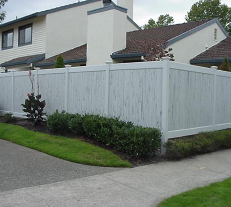 AFC Rochester - Vinyl Fencing, Greystone (602)