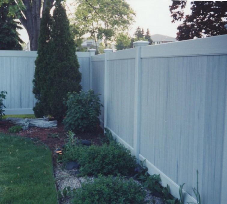 AFC Rochester - Vinyl Fencing, Greystone Privacy (615)