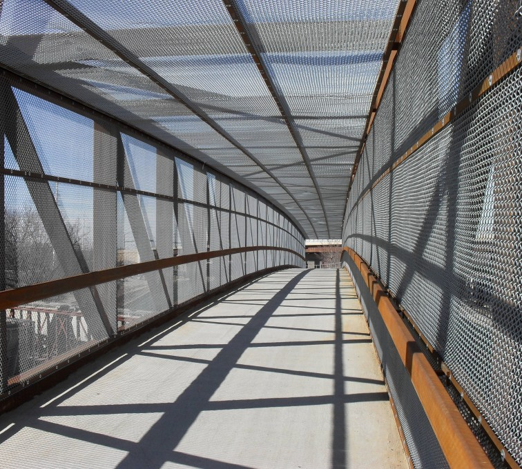 AFC Rochester - Chain Link Fencing, Holdrege Street Bridge Inside