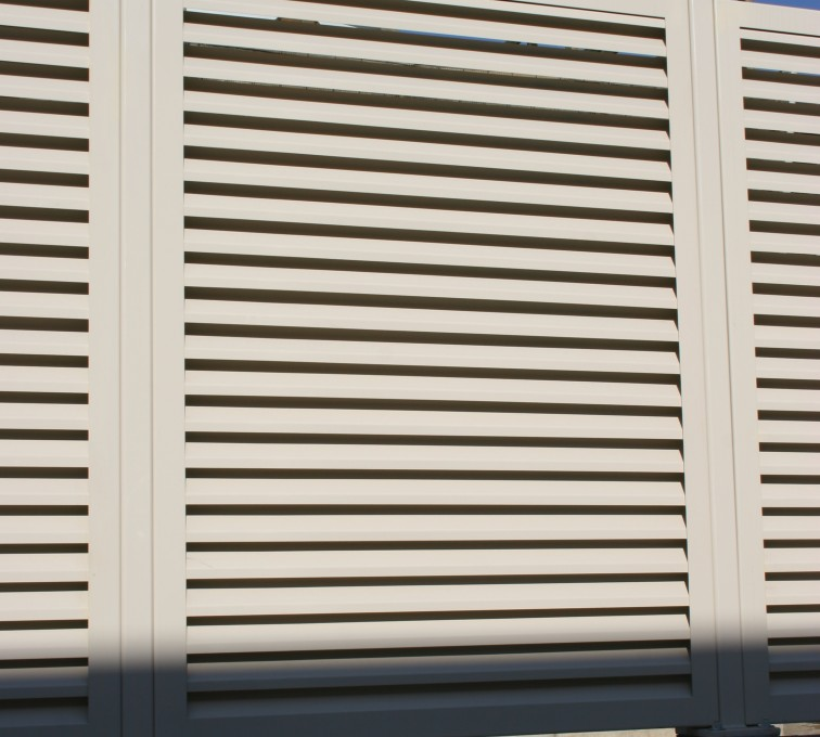 AFC Rochester - Louvered Fence Systems Fencing, Louvered Fence Panel