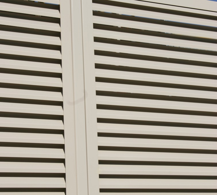 AFC Rochester - Louvered Fence Systems Fencing, Louvered Fence Post